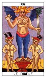 El Diablo en el tarot: la energía sexual y el deseo #sersiendo