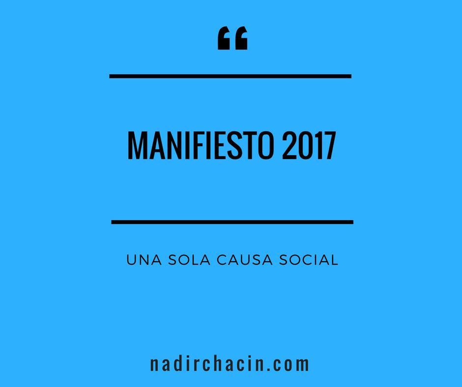 Una causa social y activismo consciente #sersiendo