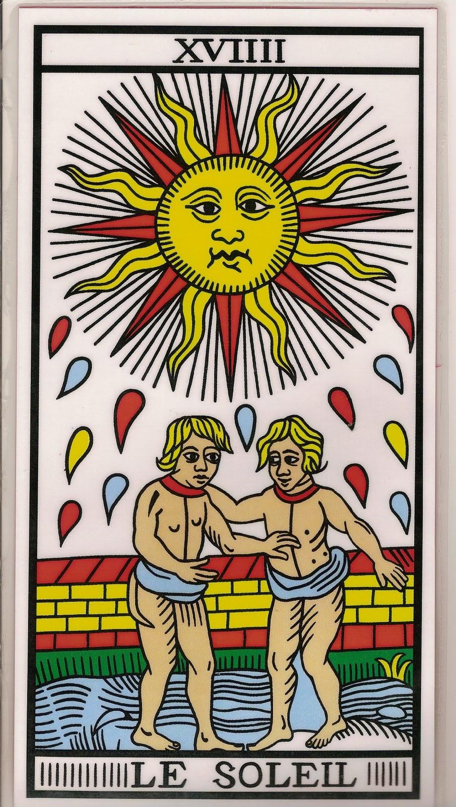 El Sol en el tarot: la voluntad de brillar #sersiendo